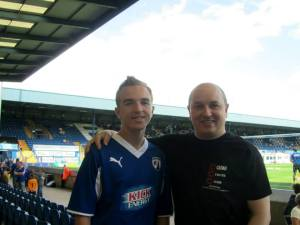 The Watterson's at Bury FC