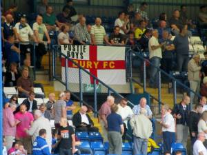 A home supporters flag