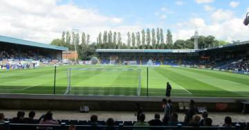 View of Gigg Lane from the away end