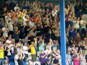 The Bury fans