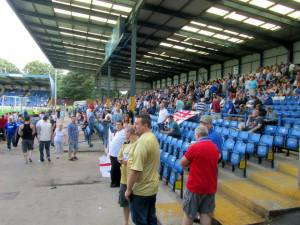 Another view of the away end