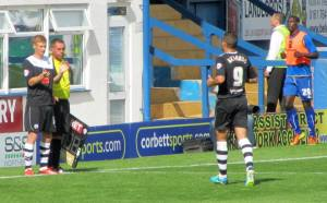 Eoin Doyle replaces the scorer of the second goal