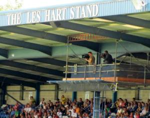 The TV gantry