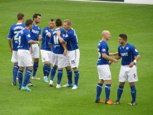 Chesterfield prepare for kick off