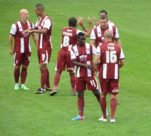 The Cheltenham players