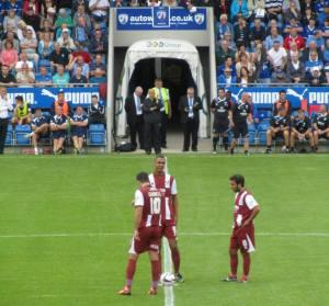 Cheltenham restart the game