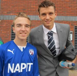 Chesterfield loanee Ryan Edwards