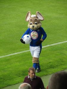 Chesterfield mascot Chester