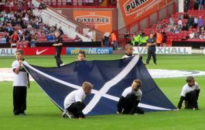 The Scotland flag