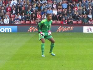 The Scotland goalkeeper