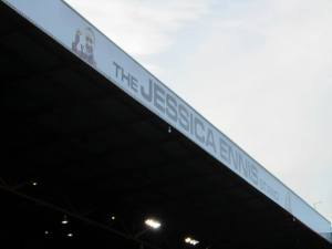The Jessica Ennis stand