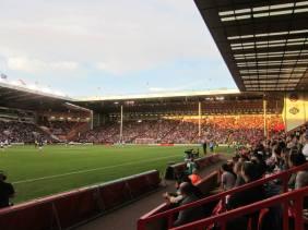 Nearly 27,000 supporters inside Bramall Lane