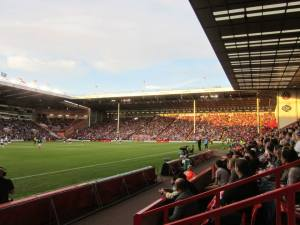 Nearly 27,000 supporters inside Bramall Lane