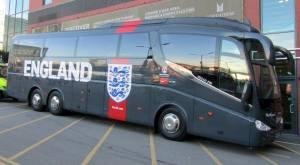 The England team coach