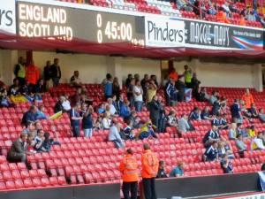 The Scotland fans