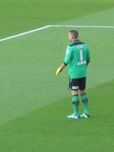 Paddy Kenny guards the Leeds goal