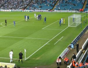 A corner for Leeds United