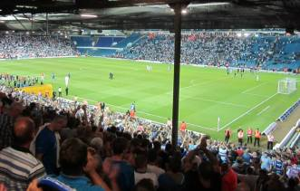 The Chesterfield fans remain positive despite the narrow defeat