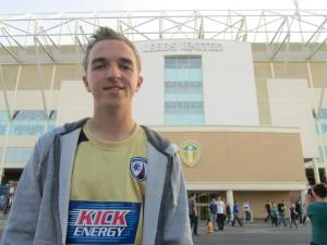 Outside Elland Road