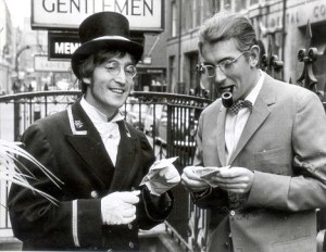 Lennon and Peter Cook