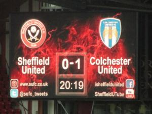 Colchester take the lead