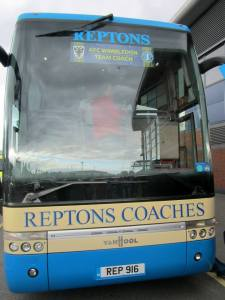 The Wimbledon team coach