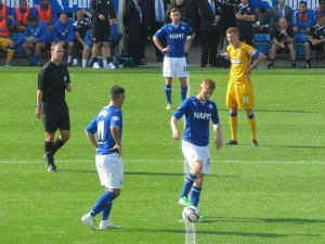 Chesterfield get the game back underway