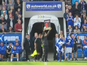 Chesterfield make substitutions