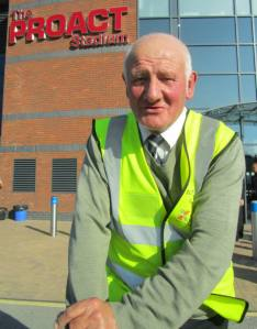 Chesterfield FC legend Jeff Hall