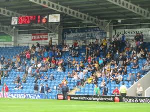 The Southend supporters