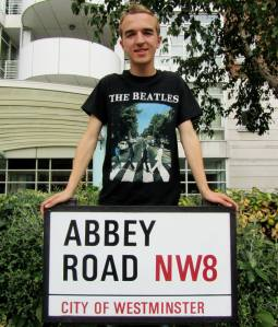 Stood on Abbey Road