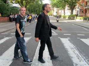 Me and 'Ringo' cross