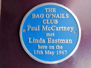 Paul met his future wife in this club