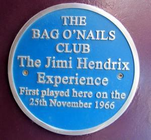 Jimi Hendrix played here