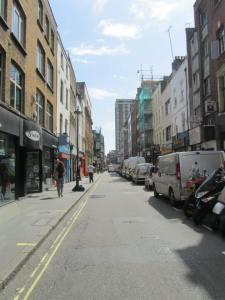 The iconic view of Berwick Street