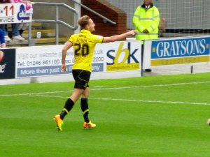 McGurk bags his and Burton's second goal