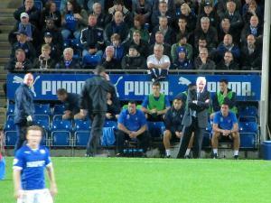 York manager Nigel Worthington on the touchline