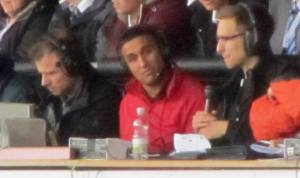 Jack Lester does the match commentary