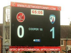 Cooper is the scorer