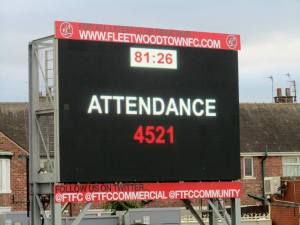 The attendance at Highbury