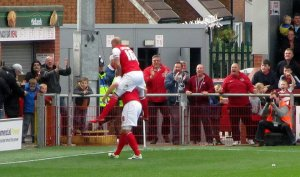 Jon Parkin grabs a late point for Fleetwood