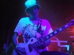 Matt Baxter on guitar