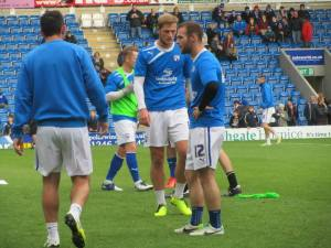 The Chesterfield warm up