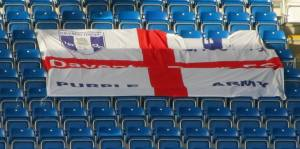 A Daventry flag