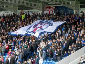 Chesterfield flag on the Kop