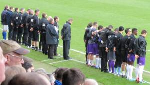 Silence on the touchline