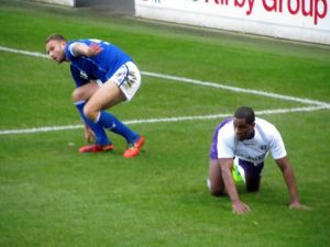 Ian Evatt and Ashley Robinson
