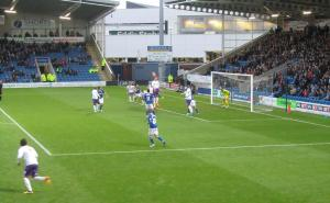 Chesterfield defend a header