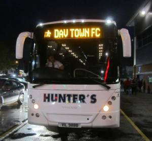 Daventry Town head home after doing themselves proud against league opposition