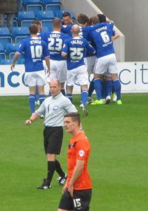 Marc Richards puts Chesterfield ahead